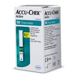 Tiras p/ Medir Glicose - Accu Check - Cx Lacrada