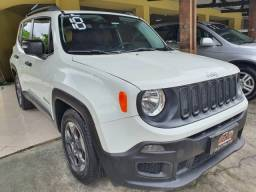 Oferta! Jeep Renegade 2018 Automático 1.8 Revisado Lindo! (banco de couro)