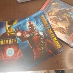 Trilogia: Homem De Ferro (original)