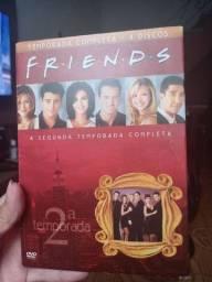 DVDs 2 temporada de Friends