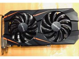 Placa de video gtx 1060 3gb 2cooler gigabyte