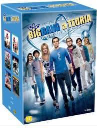 Box the Big Bang theory - 6 temporadas novo.
