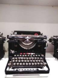 Belissima Remington decada de 20 Maquina de datilografia antiga - antiguidade