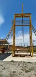Portico horizontal e vertical