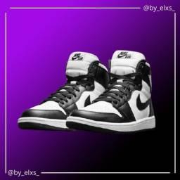 Tênis Nike Air Jordan - Preto e Branco
