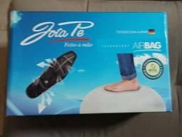sapato social air bag jota pe preto semi novo na caixa número 38