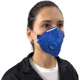 Respirador PFF 2 COM FILTRO_(APROVADO PELA ANVISA)