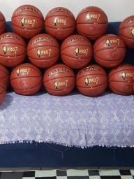 Bolas de basquete 100 reais a unidade, bola oficial de couro magussy