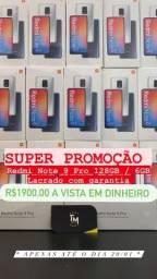 Redmi Note 9 Pro 128GB / 6GB, lacrado com garantia. Versão global