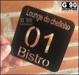 Comanda para Bar, Balada, Cervejaria, Lounge Em Acrílico Colorido.
