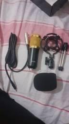 Microfone BM800 + Tripé