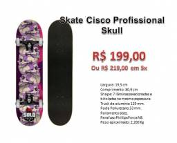 Skate Cisco Profissional Caveira