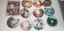 65 CDs jogos Xbox360