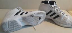 Tênis Adidas Pro Model 2G Masculino, Branco,Preto, 42
