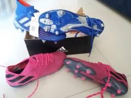 2 Chuteiras Adidas Profissional 19.1 Novas Sem Uso