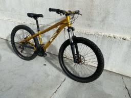 Bike Gios FRS dourada