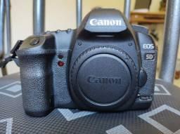 Câmera canon 5d Mark ii  top