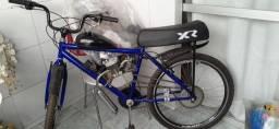 Bicicleta motorizada semi nova