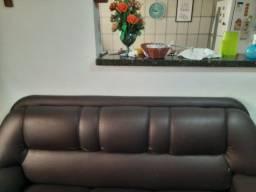 Sofá de 3 e 2 lugares com avaria