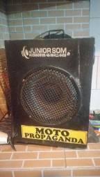 Troco caixa de som,por bike motorizada,bicicleta,walk machine,mobilete ou vendo