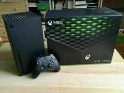 Xbox series x na caixa + nota fiscal