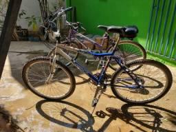 Duas bikes aro 26 por R$1.000,00
