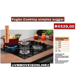 Cooktop Suggar Vidro temperado Entrega em Goiânia e Aparecida
