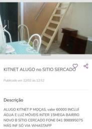 KITNET SITIO SERCADO p mulher.