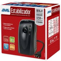 Estabilizador Revolution VI 1000VA Monovolt 110V - SMS