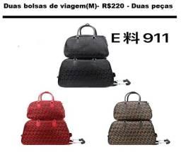 mochilas e carteira