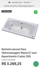 Banheira Jacuzzi Completa