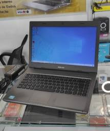 Notebook Positivo S2115 - Intel Core i3-2310M - RAM 3GB - HD 500GB - Tela 14Led