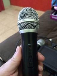 Microfone semi novo oportunidade