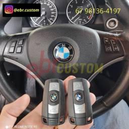 Chave slot e de presença para linha BMW