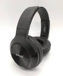 Headset Fone de Ouvido Sem Fio Bluetooth Headphone C/ Microfone - Loja Natan Abreu