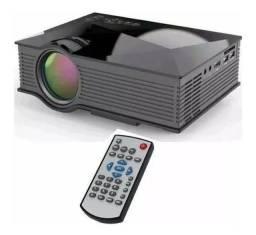 Projetor Uc68 Hdmi Wi-fi Áudios Unic 1800 Lumens Qualidade<br><br>