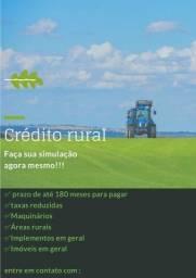 Crédito rural para maquinários
