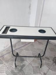 Mesa de Manicure e Cadeira para Cabeleireiro