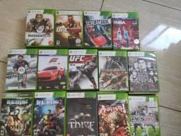 Games originais Xbox 360 de vários estilos