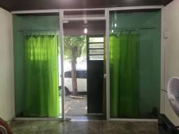 Fachada / porta de vidro temperado, 10mm, cor branca