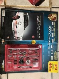 Fascículo 3 + conjunto de peças da réplica miniatura do porsche 911 carrera