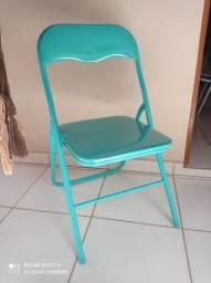 Cadeira Dobravél Estofada
