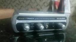 Interface de áudio M áudio em ótimoestado de conservação.
