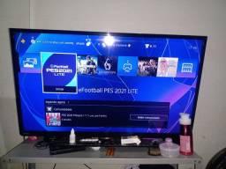 TV slim 45 polegadas mais PS4