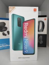 REDMI Note 9 da Xiaomi.. Novo LACRADO Garantia entrega em mãos imediata