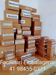 Caixas de papelão para envio correios/e-commerce!!!