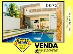 Carapibus, Piscina, 3 suítes, 100m², R$ 450 mil, Venda, Casa, Conde
