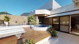 Cobertura para venda com 492 metros quadrados com 3 quartos em Lagoa - Rio de Janeiro - RJ