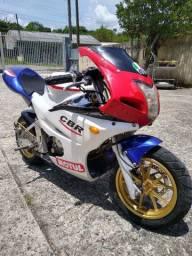 Mini moto esportiva
