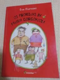Livro paradidático Os problemas da família gorgonzola